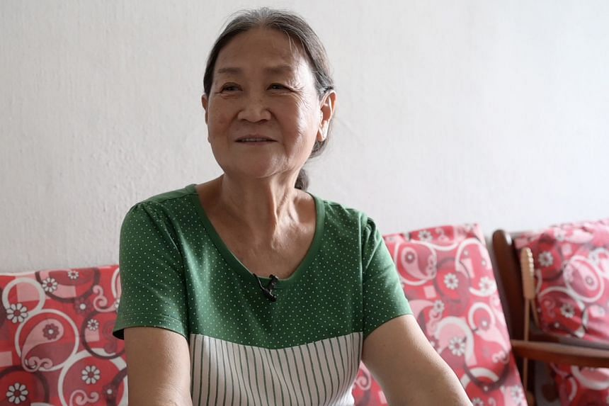 Madam Lee Lai Kum, 71, lives in a two-room rental flat with her husband and mum. They will each get $900 every quarter instead of $750.