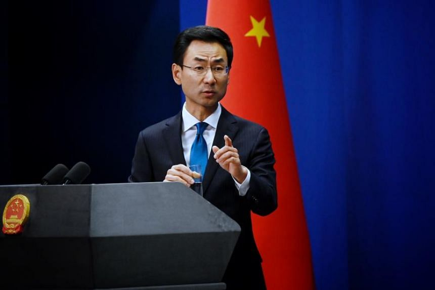 Chinese spokesman Geng Shuang told a daily briefing that Beijing made several representations to the paper over the article.