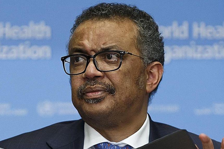 Singapore is leaving no stone unturned, says WHO director-general Tedros Adhanom Ghebreyesus.
