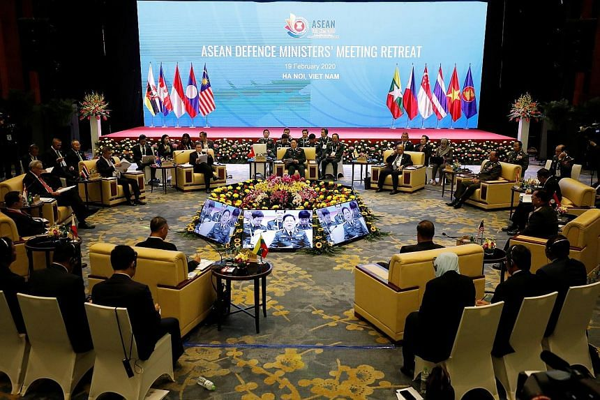 In Hanoi yesterday, Asean defence ministers discussed the impact of the coronavirus on the region. They agreed to use the network of Asean chemical, biological and radiological defence experts to promote scientific cooperation to manage infectious di