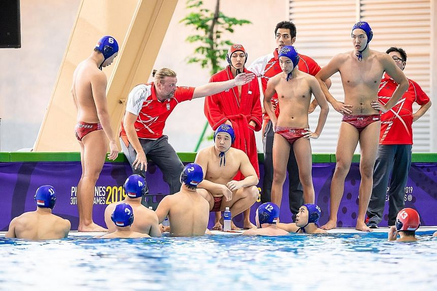 National men's coach Dejan Milakovic and the players reached an understanding during a frank discussion following the team's return from the Philippines SEA Games with just a bronze. PHOTO: SNOC