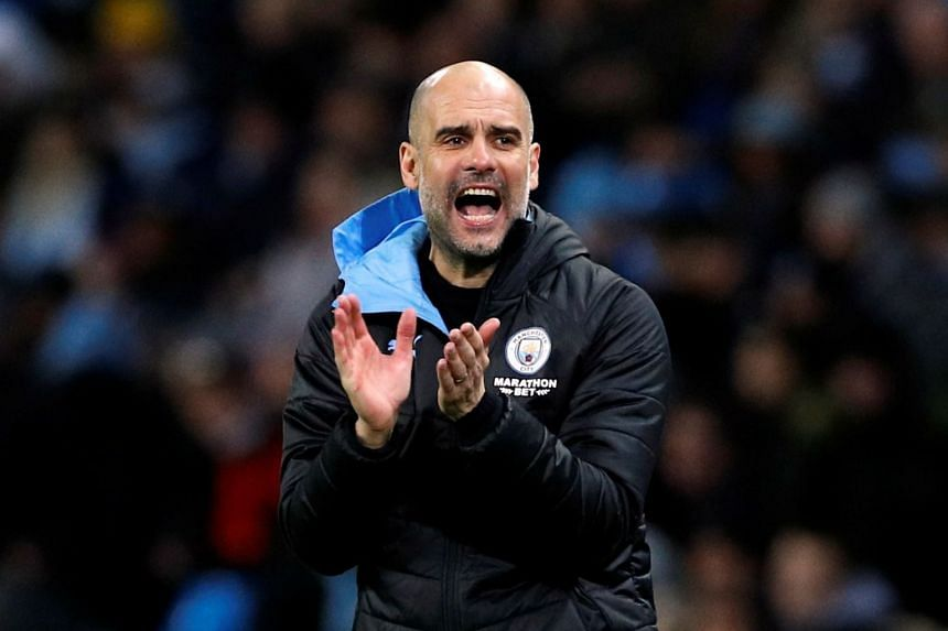 Manchester City manager Pep Guardiola said he had discussed with his players the right approach to take to the rest of the campaign, in light of the legal moves.