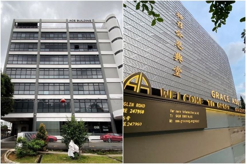 The Life Church and Missions along Paya Lebar Road and Grace Assembly of God church in Tanglin. Two of the new cases were linked to existing clusters linked to the churches.