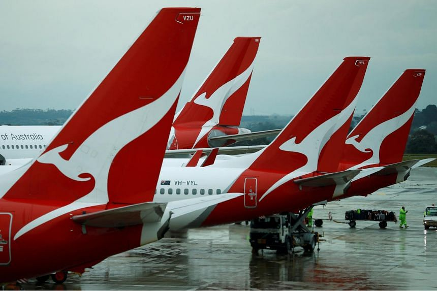 Qantas also plans to make small cuts to its domestic and New Zealand routes in response to lower demand.