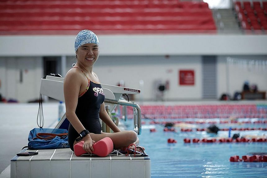 Yip Pin Xiu loves pushing her limits, even though she needs a longer recovery time than before. ST PHOTO: GIN TAY