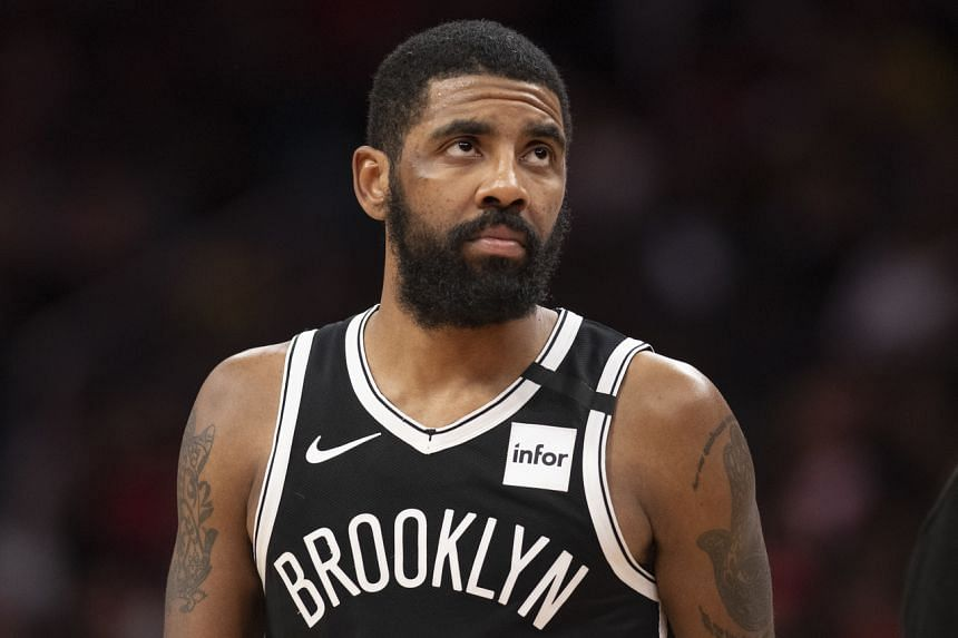 Brooklyn point guard Kyrie Irving's shoulder has not been 100 per cent since his return to action on Jan 12.