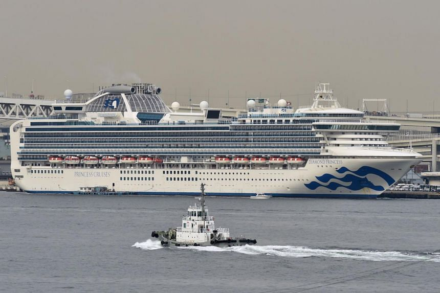 The Diamond Princess, which has been docked off the coast of Japan since Feb 3, is the largest single cluster of coronavirus outside of China.