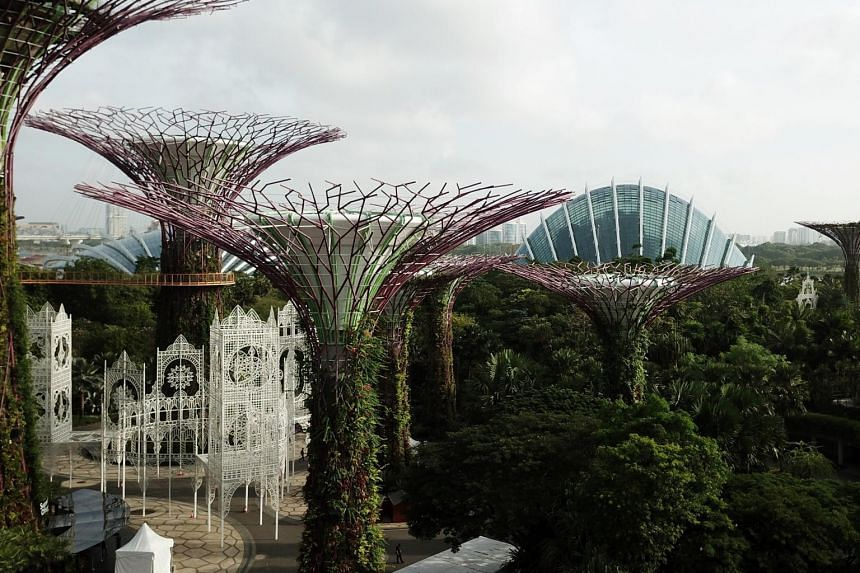 The Gardens by the Bay is one of many Singapore landmarks built by Woh Hup Holdings.