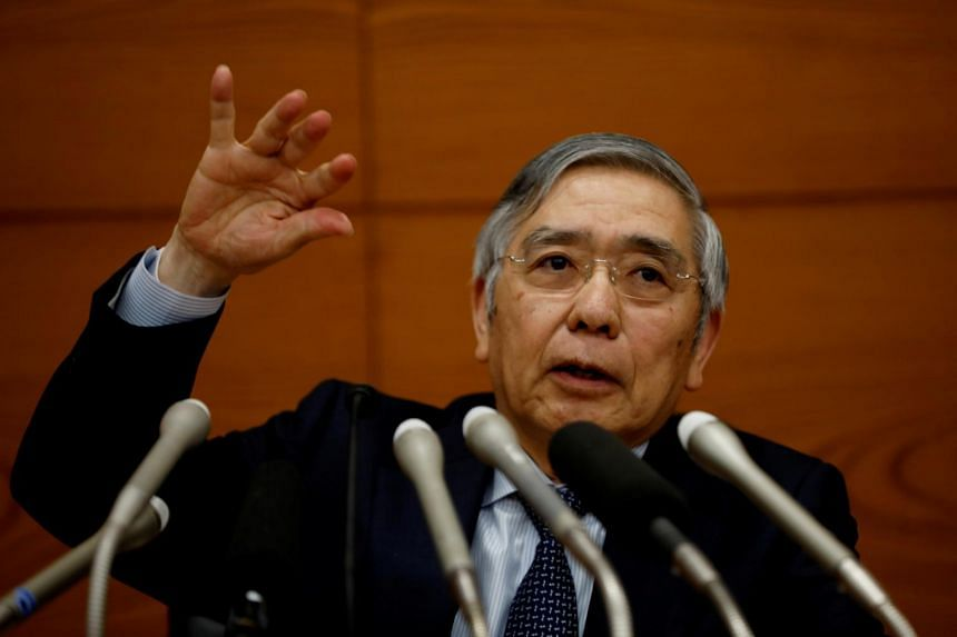 Bank of Japan Governor Haruhiko Kuroda said it was not yet time to discuss whether additional monetary easing was needed amid the virus outbreak.