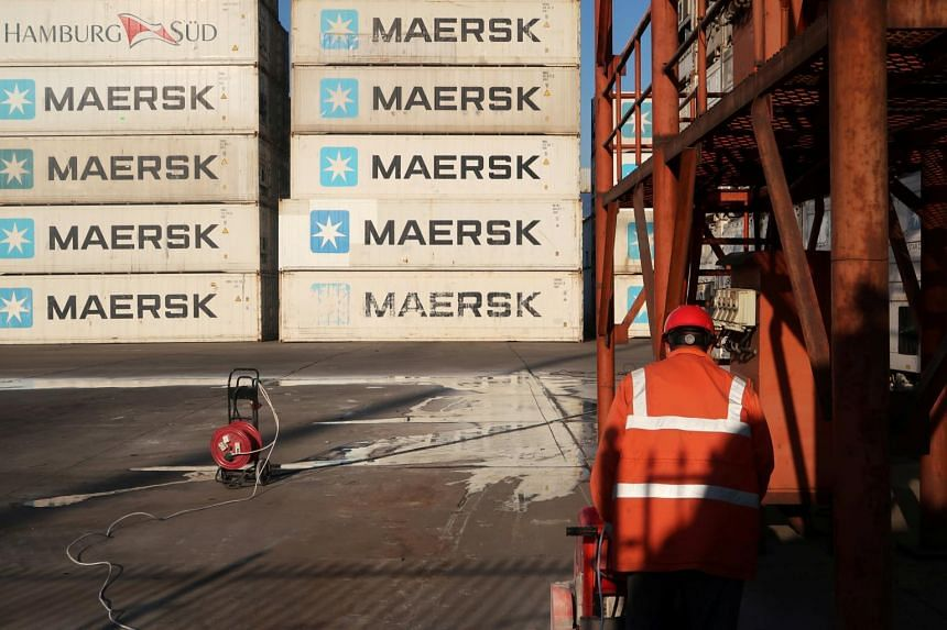The world's biggest container line Maersk warned that the coronavirus outbreak would weigh on earnings this year.