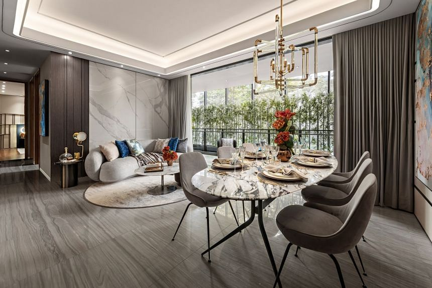 Leedon Green is designed to be a timeless, luxurious living space for discerning home buyers. PHOTO: LEEDON GREEN