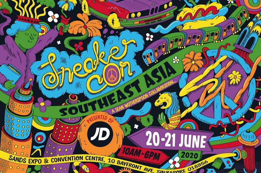 The inaugural South-east Asian Sneaker Convention had been expected to be the world's biggest sneaker convention to date.