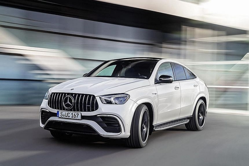 All-in-one Mercedes-AMG GLE63 Coupe.