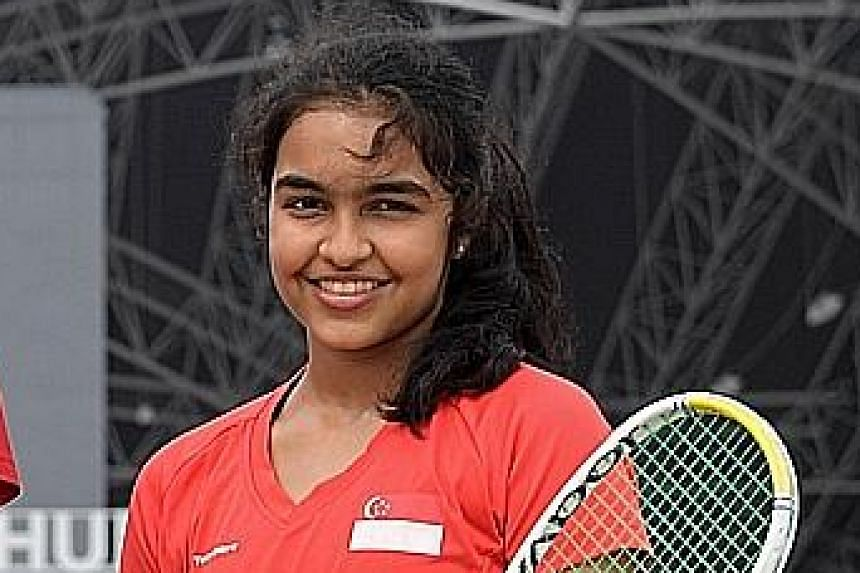 National squash player Sneha Sivakumar and high jumper Kampton Kam, both 18, were among a batch of national athletes who had to juggle studies and training for a major competition - the SEA Games in the Philippines - during a crucial exam year. Ms Sn