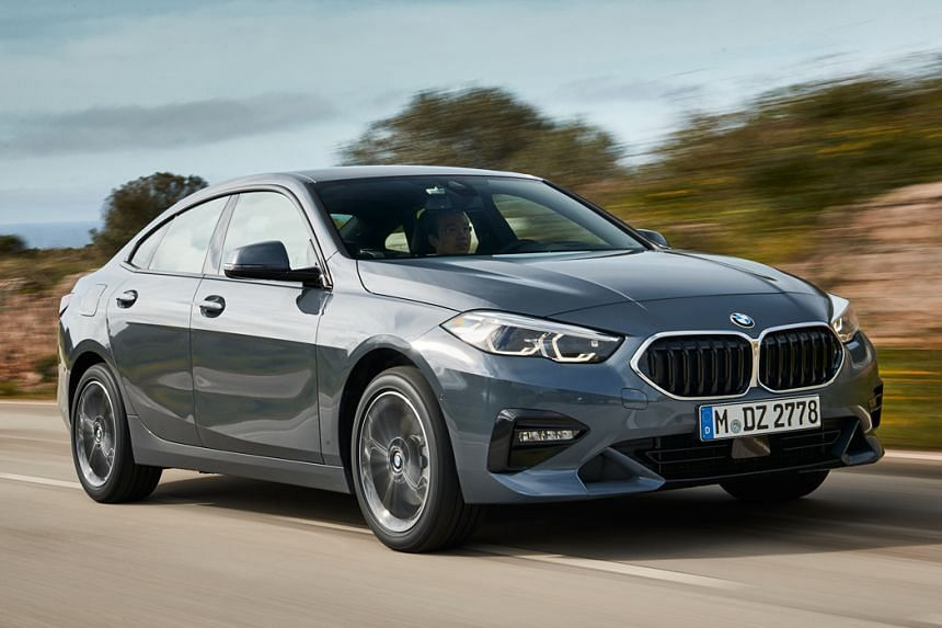 The BMW 218i Gran Coupe, the base model in Singapore, is powered by a 1.5-litre turbocharged 3-cylinder that delivers 140bhp and 220Nm.