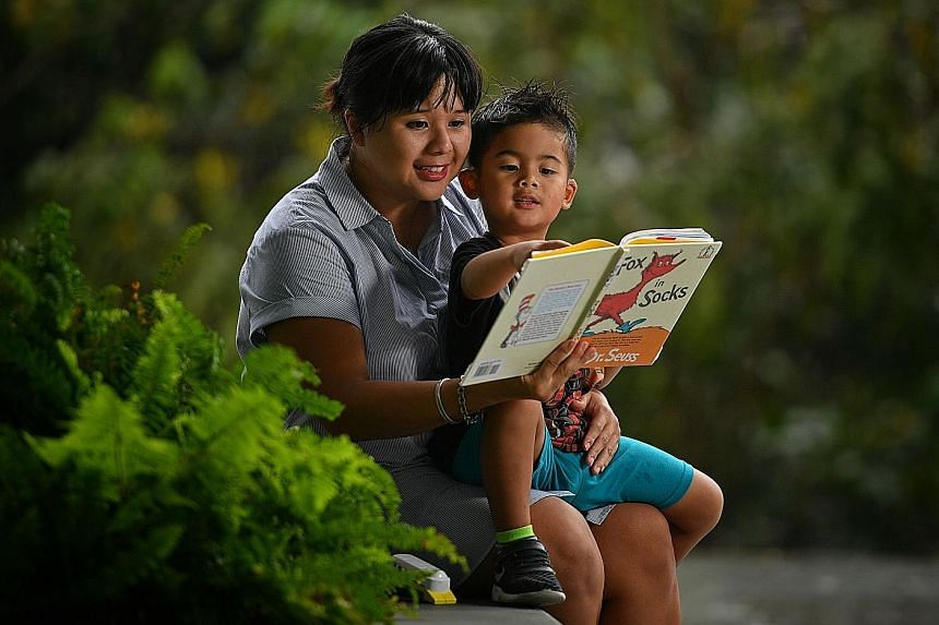 Ms Joline Lim read parenting books and took parenting courses to learn how to get her son James to cooperate with her without her having to punish, force or threaten him in an angry manner.