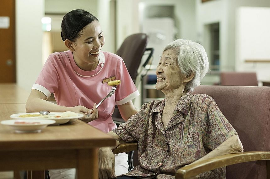 The elderly require more protein-rich food than younger adults to maintain bone and muscle health.
