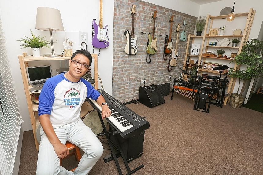 Mr Chua Wee Lam said that he received about $20,000 worth of grants for his $113,000 flat. With the grant, he was able to pay up in full for his new home through his CPF.