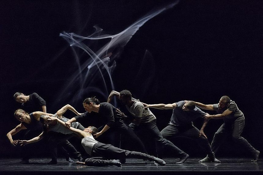 Musical Swings, the teaser for this year's Singapore International Festival of Arts, goes live at Dhoby Ghaut's Cathay Green from May 1. In the line-up: Revisor (top left), choreographed by Crystal Pite; Cold Blood (top), by choreographer Michele Ann