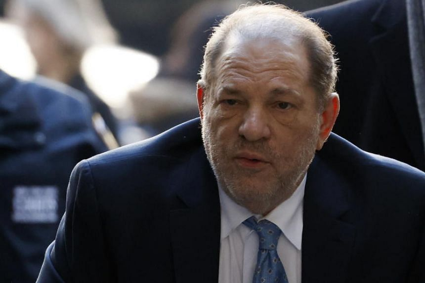Former Hollywood producer Harvey Weinstein arrives at the New York State Supreme Court as the jury is set to deliberate in his sexual assault trial in New York, on Feb 24, 2020.