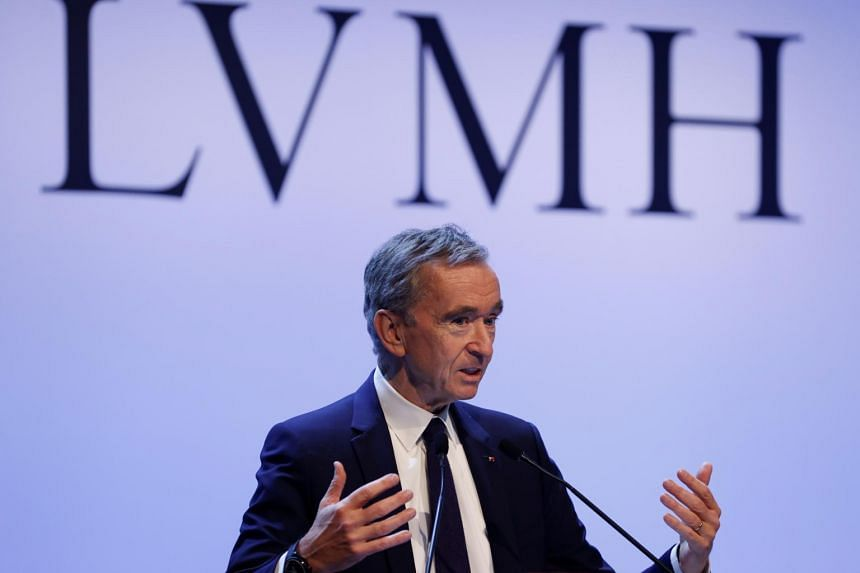 Chairman of luxury-goods maker LVMH Bernard Arnault (pictured) and Amazon.com founder Jeff Bezos led the declines, with each losing more than US$4.8 billion.