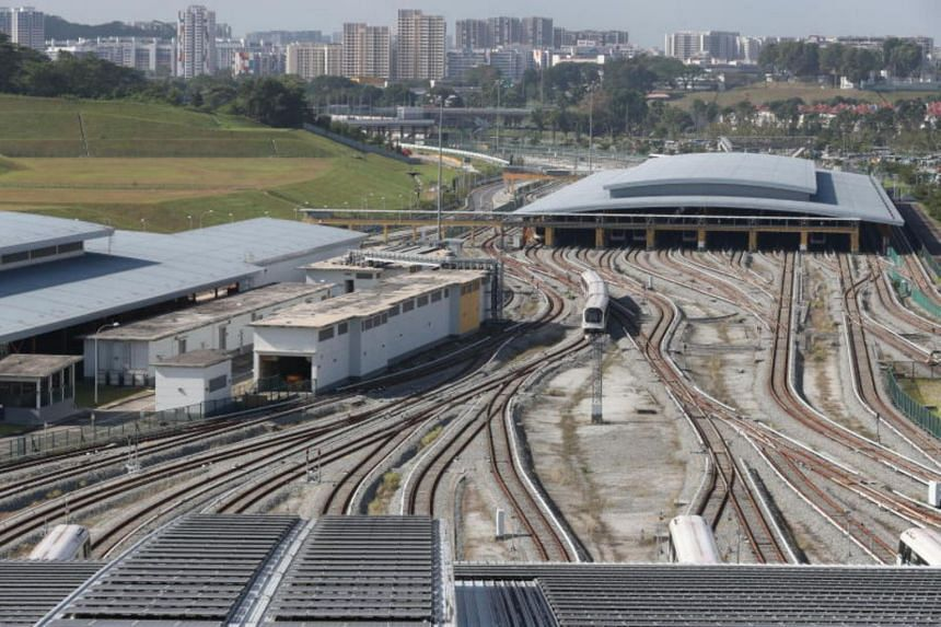 The simulation facility for the Downtown Line at Gali Batu Depot will fully open at the end of the year.