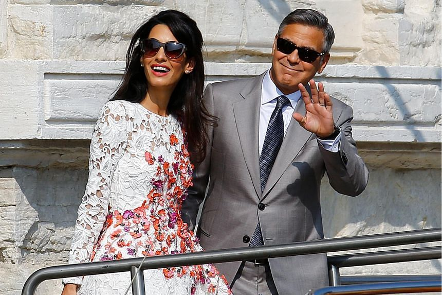 Amal Clooney (left) successfully represented former Maldives president Mohamed Nasheed and secured a UN decision that his 2015 jailing for 13 years was illegal.