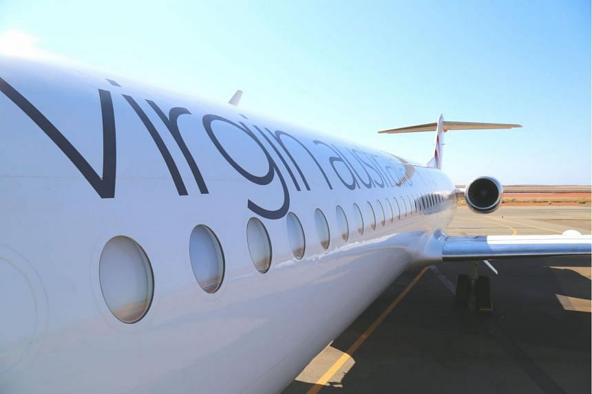 Virgin Australia posted a A$88.6 million first-half loss.
