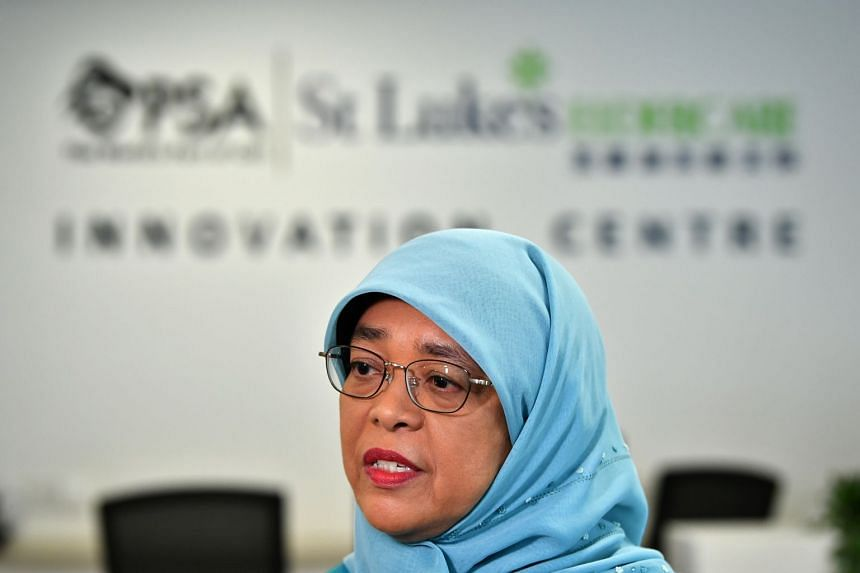 President Halimah Yacob said the President's Challenge has been rallying its resources to help the vulnerable groups within the community to combat the disease outbreak.