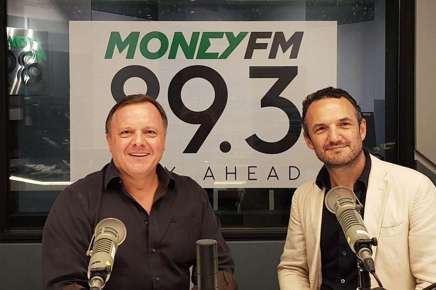In this Money FM podcast, Glenn van Zutphen (left) hosts Graham Brown, entrepreneur, speaker, podcast host and the author of Leadership In The Exponential Era.