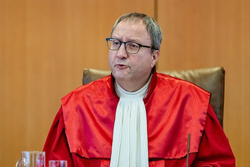 JUDGE ANDREAS VOSSKUHLE