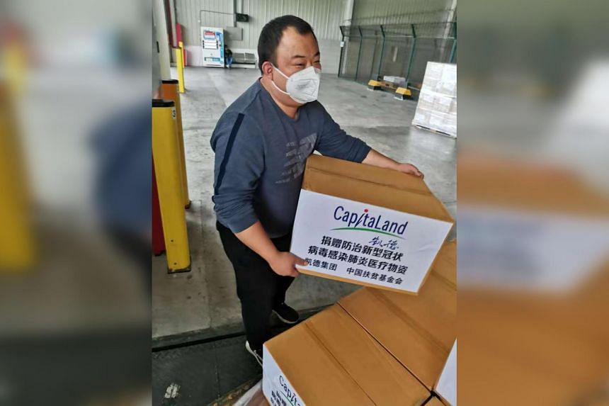 A second batch of 40,000 surgical masks and 500 barrels of disinfectant, will be dispatched to Wuhan Union Hospital and Tongren Hospital in Wuhan respectively.