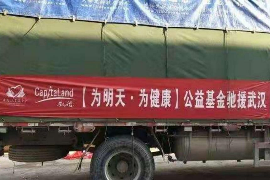 The first batch of 375,000 pairs of medical gloves was dispatched to Wuhan Union Hospital and Tongji Hospital in Wuhan on Feb 1, 2020.