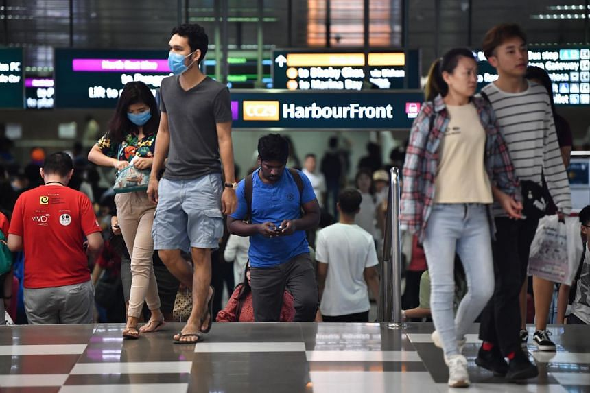 SBS Transit said that the train service on the NEL is available only between Harbourfront (above) and Buangkok MRT stations.