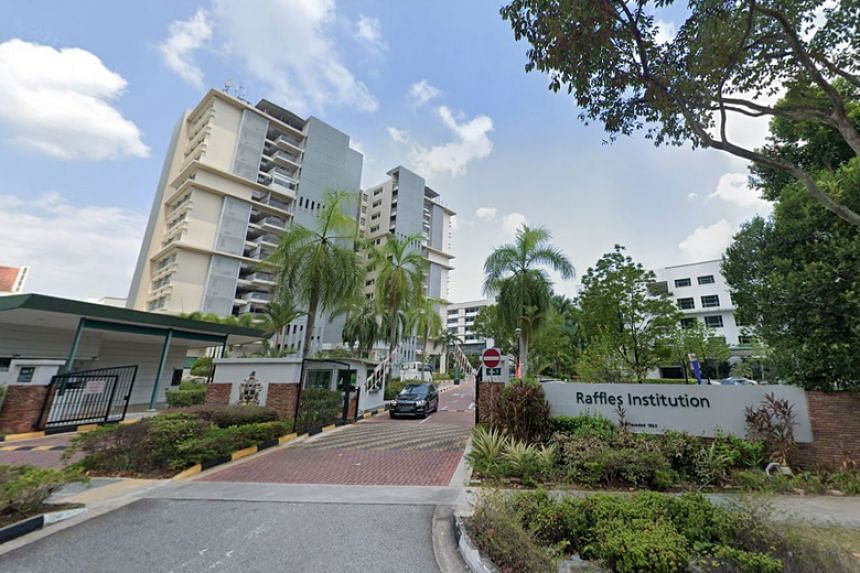 One of the three new cases is a 12-year-old student at Raffles Institution.