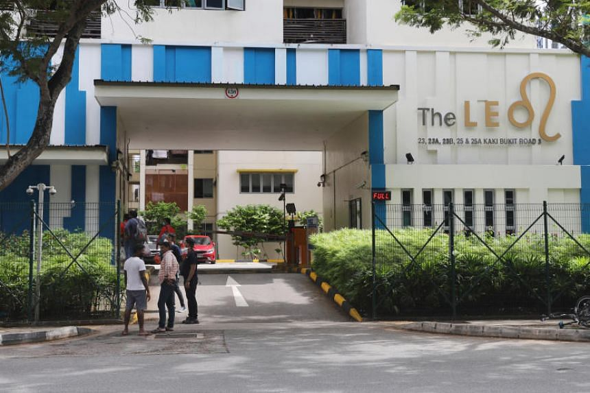 The Bangladeshi worker who was staying at The Leo dormitory in Kaki Bukit is critically ill after being infected with the coronavirus.