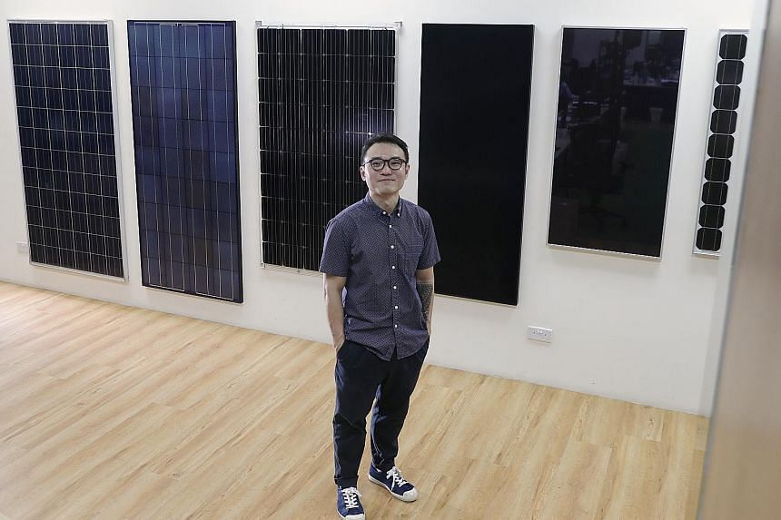 SolarPVExchange, led by managing director Rob Khoo (above), is one of Singapore's pioneer solar system integrators. The company has registered its first customer under UOB's U-Solar programme, launched last November.