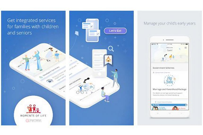 The Moments Of Life app, which currently caters to young parents and the elderly, will be enhanced later this year to provide personalised services for more Singaporeans.