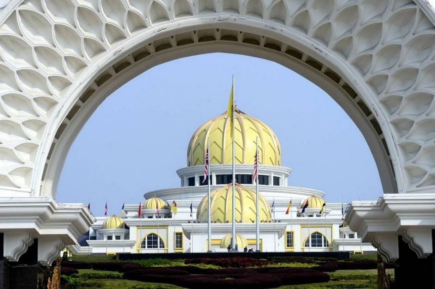 The Malay rulers are meeting at Istana Negara in Kuala Lumpur on Feb 28, 2020. Matters under consideration include the possibilities of a new government or the dissolution of the Parliament's House of Representatives.