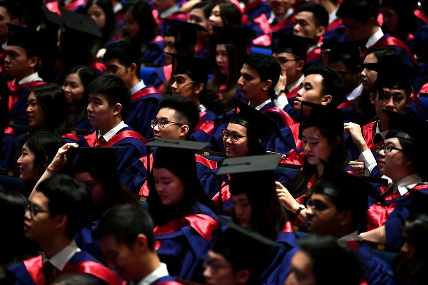 Fresh graduates took home a median gross monthly salary of $3,600 last year, compared with $3,500 in 2018, according to a joint graduate employment survey released on Feb 28, 2020.