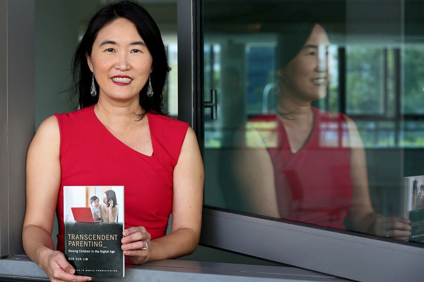 In Professor Lim Sun Sun's book, she describes parents in Singapore as being contactable at all times by their children, educators and fellow parents.