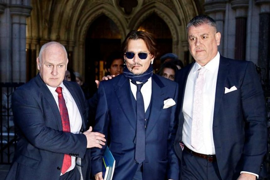 Johnny Depp in United Kingdom court for hearing on tabloid libel lawsuit
