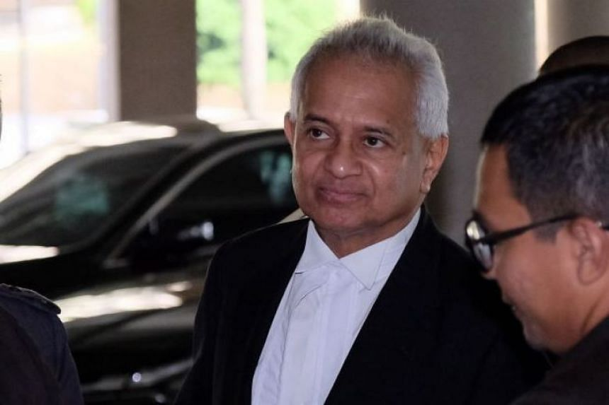 No reason was given for Mr Tommy Thomas' resignation although The Edge said he wanted to resign while Dr Mahathir Mohamad was still in office.
