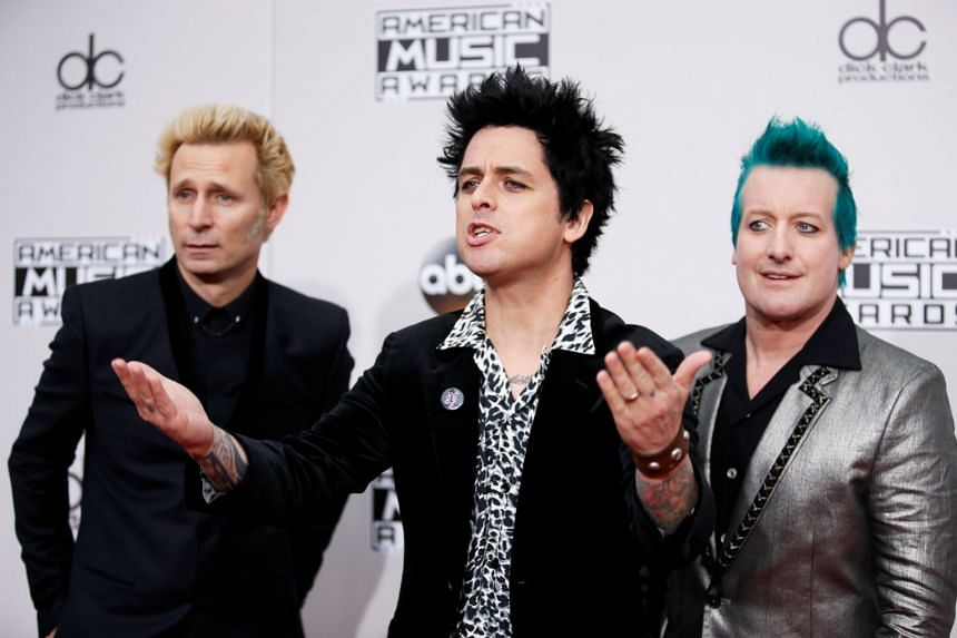 Green Day postpones Asia tour stops amid coronavirus fears