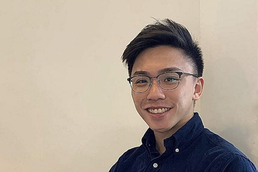 NUS graduate Nicholas Foo, who has a business analytics degree, is now a data analyst at fintech firm Revolut. PHOTO: COURTESY OF NICHOLAS FOO SMU graduate Nur Syakirah, who has a degree in information systems, works as a supply chain IT analyst at J