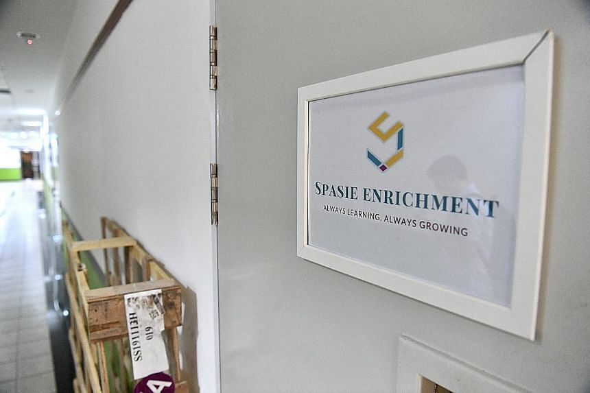 The Singapore chapter of the South Korean church had previously incorporated a front company called Spasie. When The Straits Times visited the firm's office in Ubi yesterday, it was closed.