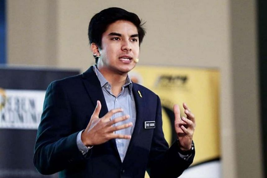 Parti Pribumi Bersatu Malaysia Muar MP Syed Saddiq Abdul Rahman rebelled against his party's attempts to form a new government that includes Umno.