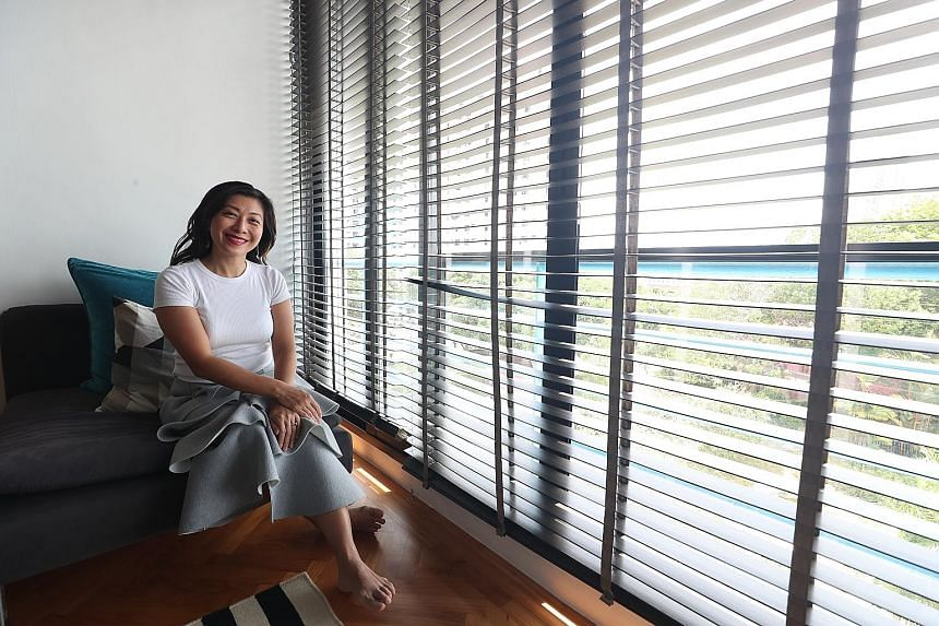 Home for Ms Wong-Kautz is now a condominium unit at Harbour View Towers in Telok Blangah. When it comes to investment in properties, Ms Wong-Kautz, who in 2014 started bespoke furniture outfit +49 Woodcraft with her husband, says she is always on the look