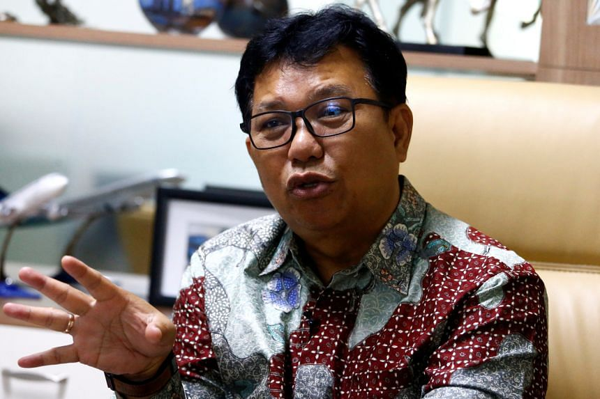 Dr Muhammad Syahril, director of Sulianti Saroso Hospital, gestures as he talks during an interview at his office in Jakarta, Indonesia, on Feb 28, 2020.