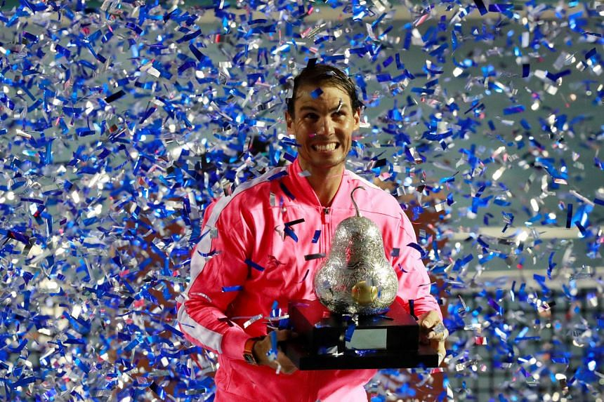 Tennis Rafael Nadal Cruises Past Taylor Fritz To Win Acapulco Title Tennis News Top Stories The Straits Times